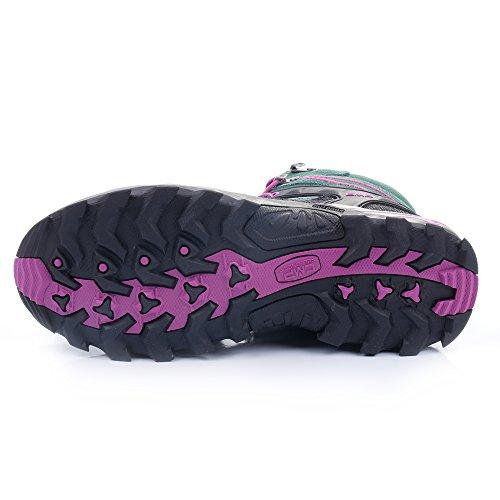 para by de Olive niña CMP Pink hot pignolo Piel Zapatillas dXBqwqHTxp