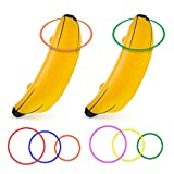 June Fox Inflatable Banana Ring