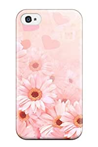 New EMscIZV4752NLqHo Pretty Daisies Tpu Cover Case For Iphone 4/4s