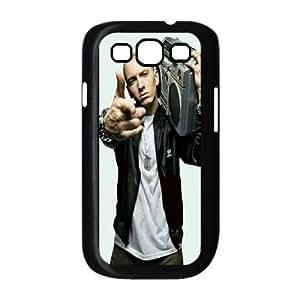 wugdiy Custom Hard Plastic Back Case Cover for Samsung Galaxy S3 I9300 with Unique Design Eminem