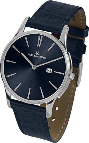 Jacques Lemans London 1-1936C Mens Wristwatch Flat & light