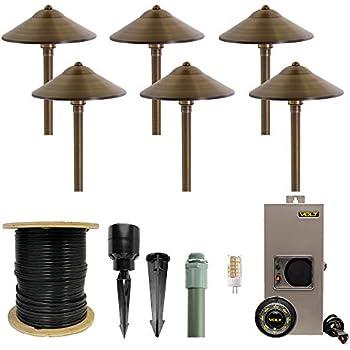 Amazon com : VOLT Lighting Complete Landscape Lighting Kit
