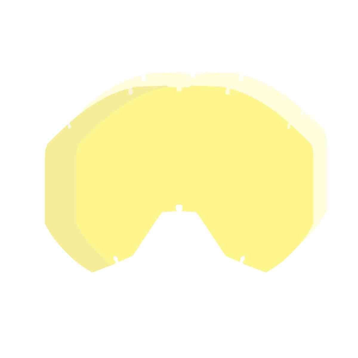 KLIM Radius Pro Adult Replacement Lens Snow Goggles Accessories - Yellow Tint/One Size 4333428470
