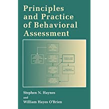 Principles and Practice of Behavioral Assessment (Applied Clinical Psychology)