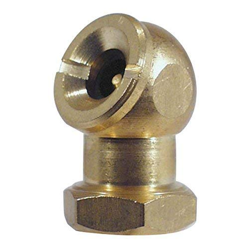(AES Industries 4101 Self Closing Brass 1/4