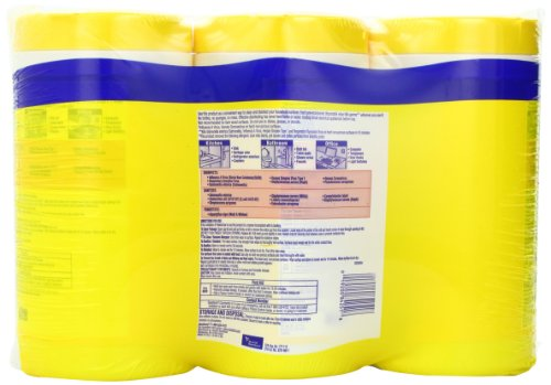 Lysol Disinfecting Wipes Value Pack, Lemon and Lime Blossom, 240 Count