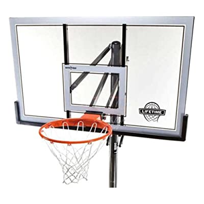 Lifetime In-Ground 54in Steel-Framed Acrylic Basketball System