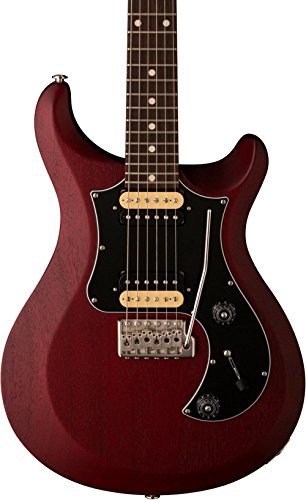 PRS S2 Standard 24 Electric Guitar with 85/15 S Pickups Dark Cherry Stain Black Pickguard