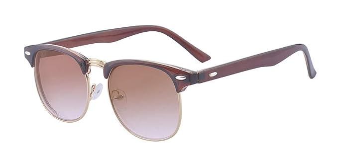 Kelens Nearsighted Shortsighted Myopia Sunglasses Glasses Half-framed for Men and Women