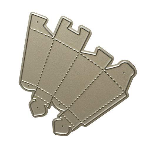 D DOLITY Troquel de Corte Corta Forma de Varios Materiales, Incluyendo Candelabros de Plata para Papel, Cartón, Papel de...