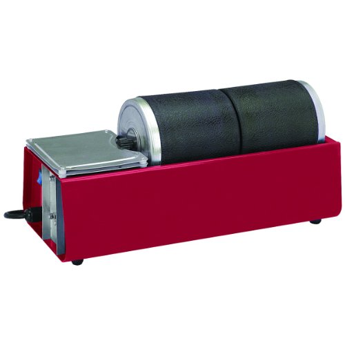 Chicago Pneumatic Dual Drum Rotary Rock Tumbler from TNM