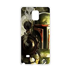 Droid War Design Plastic Case Cover For Samsung Galaxy Note4