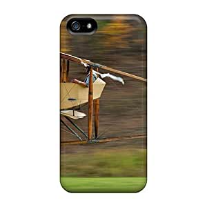 phone covers BestSellerWen iPhone 5c Cover Case - Eco-friendly Packaging(wooden Plane)