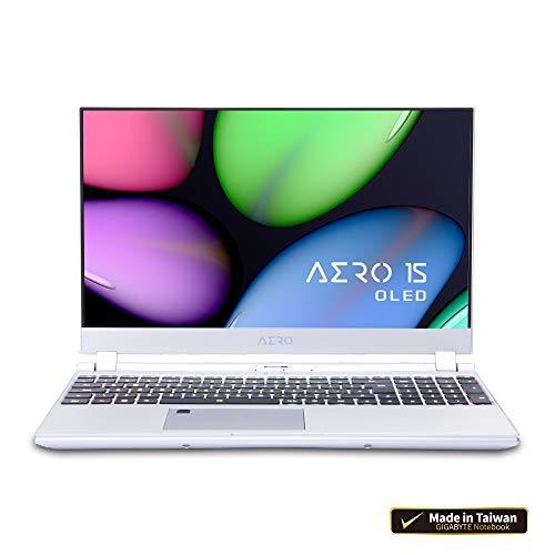 "[2020] Gigabyte AERO 15S OLED XB Thin+Light High Performance Laptop, 15.6"" 4K UHD OLED Display w/ 100% DCI-P3, GeForce RTX 2070 Super Max-Q, i7-10875H, 16GB DDR4, 1TB NVMe SSD, Up to 8.5-hrs Battery"