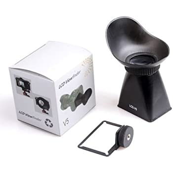 "SUPON LCD-V5 2.8X 3"" 3:2 LCD Screen Magnifier Viewfinder View finder Eyecup Hood Extender For Nikon 1 J1 DSLR camera"