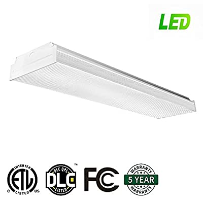 LED Wraparound Flushmount Light