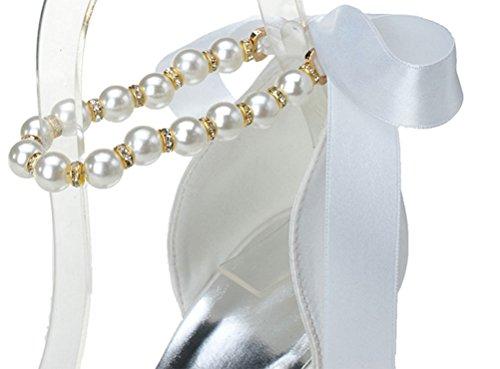 Blanc Blanc EU Find Femme Cheville Nice 5 Bride 36 wqBFZ16