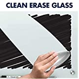 Quartet Glass Whiteboard, Magnetic Dry Erase