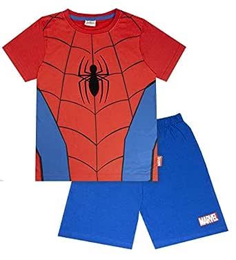 vanilla underground Marvel Spiderman Classic Costume Boy's Short Pyjamas (2-3 Years)