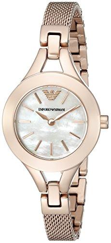 Emporio Armani Women's AR7329 Dress Rose Gold Watch