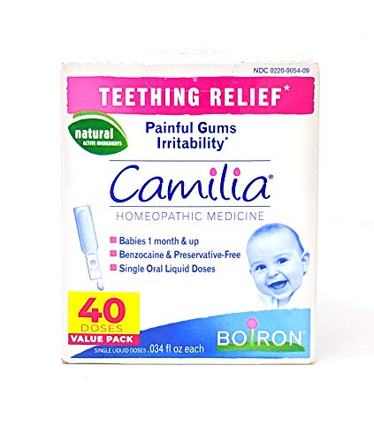 Boiron Camilia Teething Relief Value Pack, 40 Count