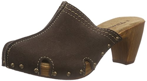 Tamaris Women's 27300 Clogs Brown (Mocha 304) tOiWh3j6