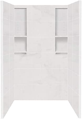 Transolid Dkw4848 91t Direct To Stud Solid Surface Shower Wall