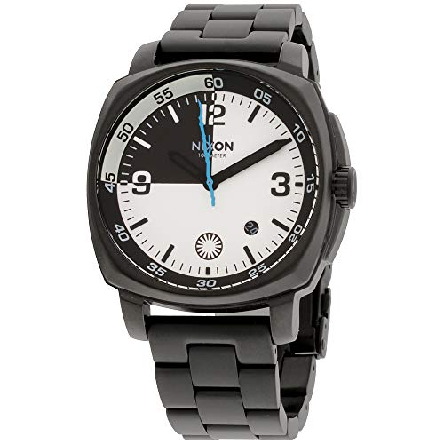 Nixon Charger SW Black Dial Stainless Steel Men's Watch A1072SW296200 Black Dial Steel Band