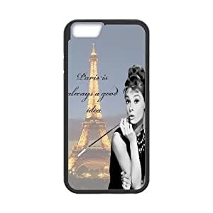 """Audrey Hepburn Quotes Use Your Own Image Phone Case for Iphone6 Plus 5.5"""",customized case cover ygtg-781743"""