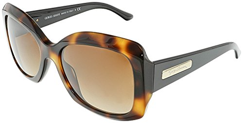 Giorgio Armani AR8002 502213 Havana AR8002 Butterfly Sunglasses Lens Category - Category 2 Sunglasses