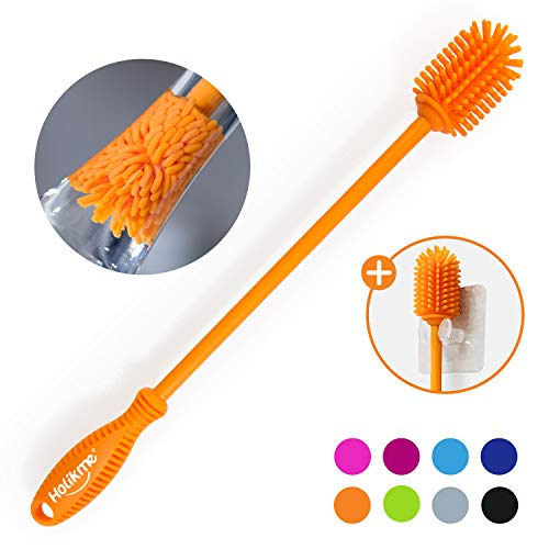 Holikme Silicone Bottle Brush Bottle Cleaner for your Bottles Vase