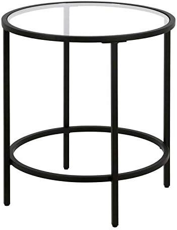 Henn Hart Blackened Bronze Round End/Side/Nesting Tables - a good cheap living room table