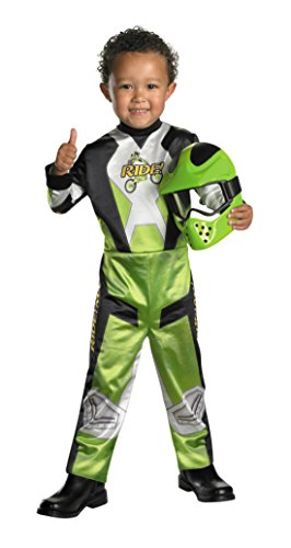 Motocross Costume For Kids (Boys Lil' Motocross Kids Child Fancy Dress Party Halloween Costume, S (4-6))