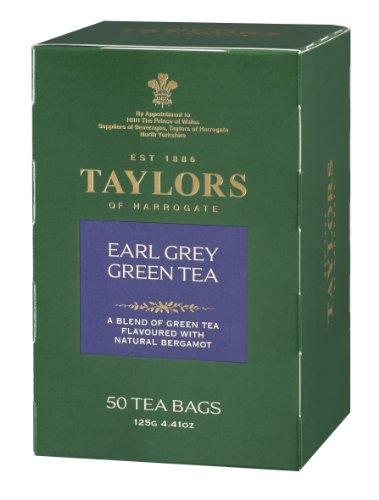 Taylors of Harrogate Green Earl Grey, 50 Teabags