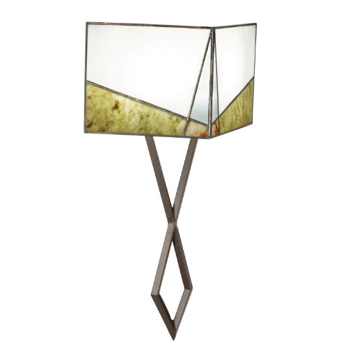 (Kichler  69178 Bayberry 2-Light Wall Sconce, Olde Bronze Finish with Tiffany Art Glass Shade )
