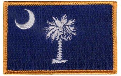 South Carolina iron-on embroidered -