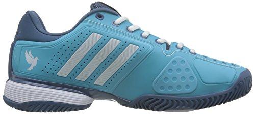 adidas Novak Pro, Zapatillas de Tenis para Hombre Azul (Blue Glow/ftwr White/high Steel)