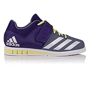 adidas Performance Womens Powerlift.3 Lace Up Weightlifting Trainers - 7.5