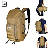 Tactical Backpack - Aione Tactical Backpack Military Army Backpack Daypack 25L/30L/32L/55L Assault Pack Bug Out Bag with Hard Shell Top Pocket