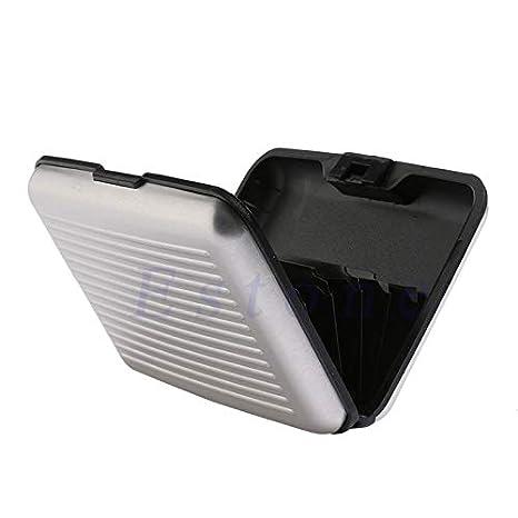 Business ID Case Waterproof Aluminum Metal Holder Case SimpleLif Slim RFID Credit Card Protector Wallet