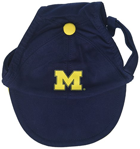 - Sporty K9 Collegiate Michigan Wolverines Dog Cap, Large  - New Design