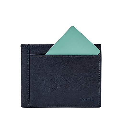 Fossil Men's Neel Leather Bifold Flip ID Wallet