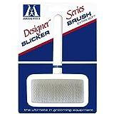 Millers Forge Stainless Steel Pins Designer Series Soft Slicker Pet Grooming Brush, Large
