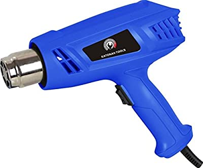 New Heat Temperature Dual Versatile Gun Power Watt Air Nozzles Hot Shrink Wrap Tool Paint Strip (600°/1000°)