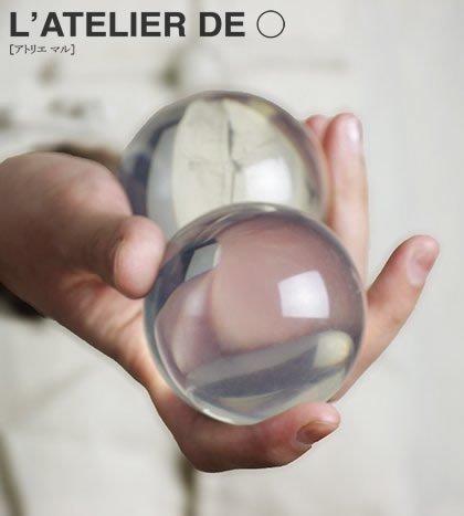 [2balls]Crystal Juggling Ball - L'ATELIER DE o (60mm2pc, UV - Uv O