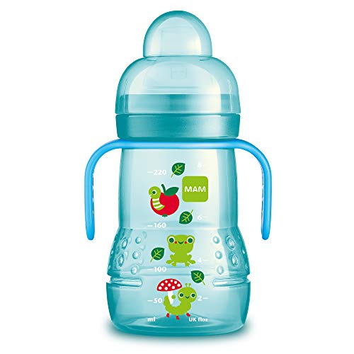 MAM Baby Products 62838211 Bottle Trainer Plus 220 ml Boys Blue ()