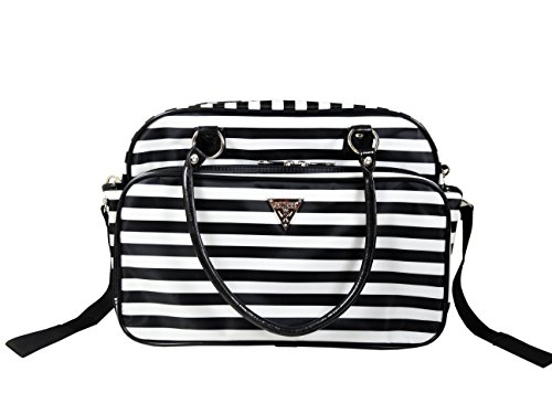 668bd790 Guess Fashion Satchel Diaper Bag - Black/White Stripes - Buy Online in UAE.  | Baby Products Products in the UAE - See Prices, Reviews and Free Delivery  in ...