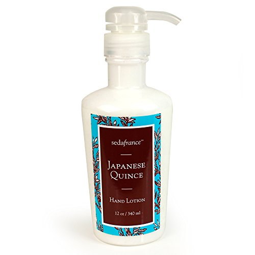 (Seda France Classic Toile Hand Lotion, Japanese Quince, 12 Ounce)