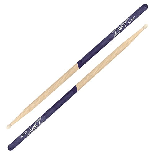 (Zildjian 5A Nylon Purple Dip Drumsticks)