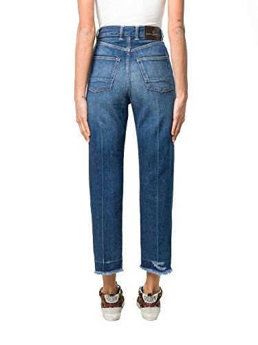 Jeans Goose Golden Mujer Algodon Azul G34wp015a2 SXqgndq